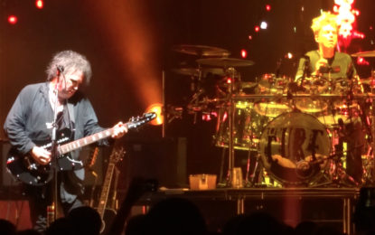 Rare Song Performed Live By The Cure At UIC Pavilion