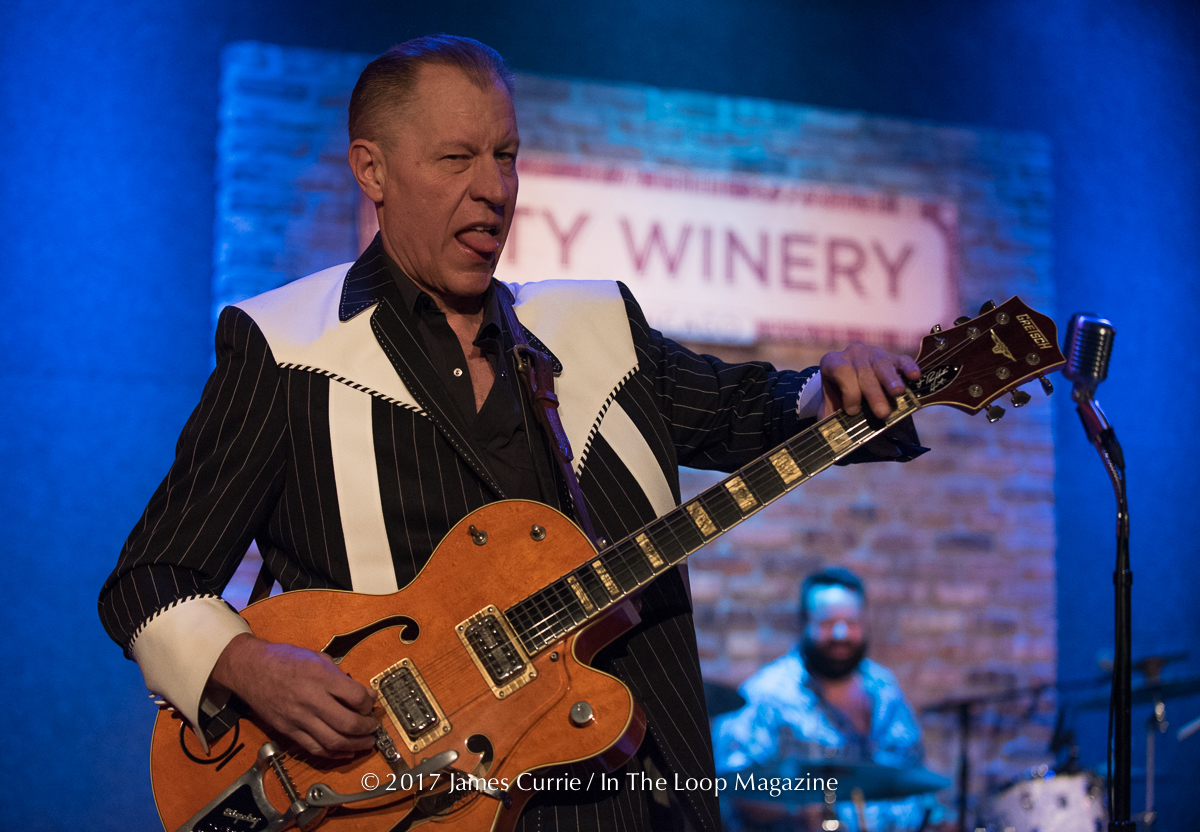 Chi-Chi -Chi, Ah- Ah- Go, Rockabilly Night At City Winery As The Creepshow and The Reverend Horton Heat Host Friday The 13th Show