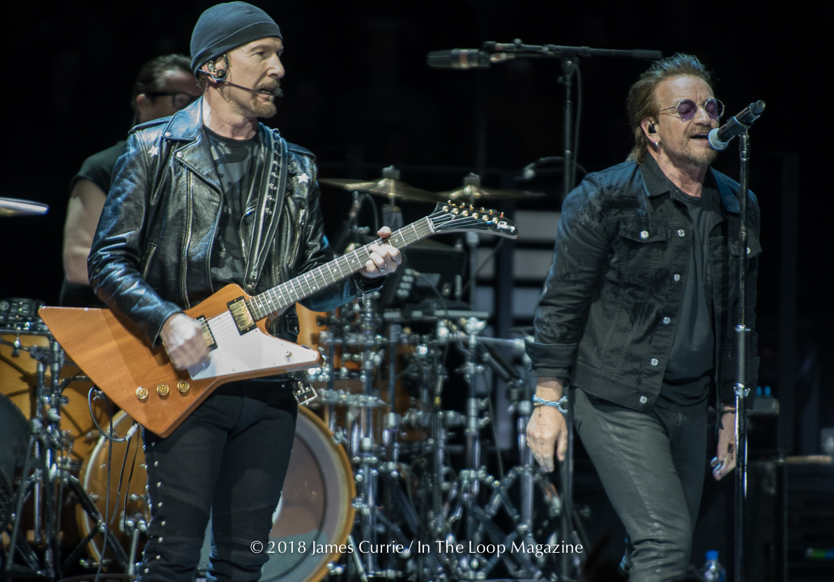 In The Loop Magazine U2 live in Chicago at United Center 05-23-18-27