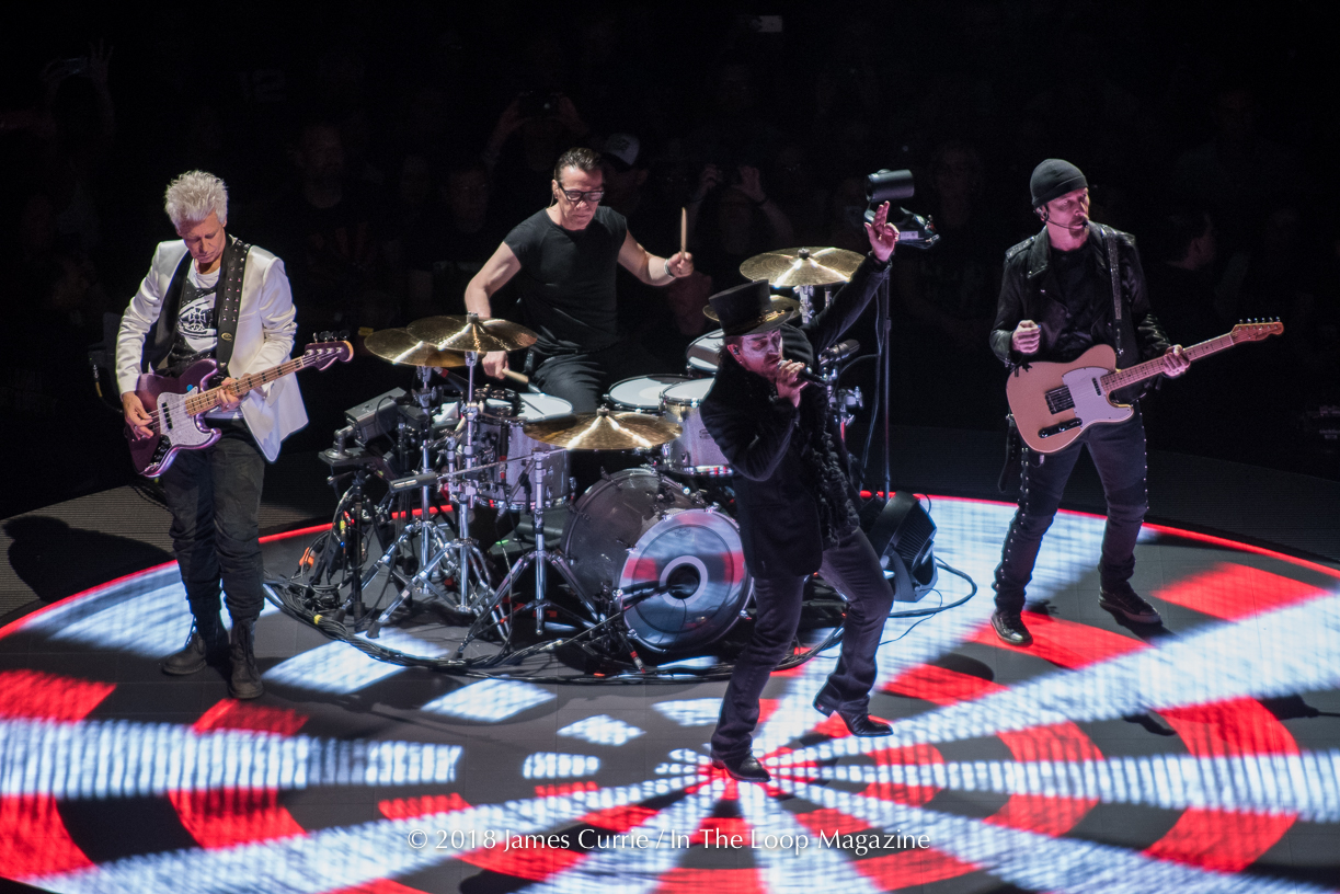 In The Loop Magazine U2 live in Chicago at United Center 05
