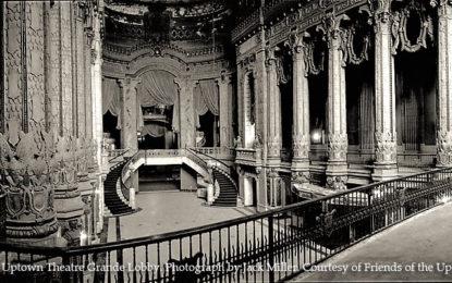 Rare Offering To Tour Historic Uptown Theatre Through Alderman's Fund Raiser