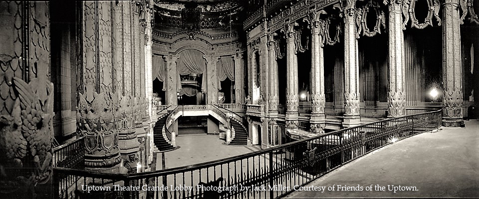 Rare Offering To Tour Historic Uptown Theatre Through Alderman's Fund Raiser