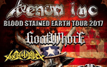 VENOM INC Announce Upcoming Blood Stained Earth Headline Tour with Goatwhore, Toxic Holocaust and The Convalescence
