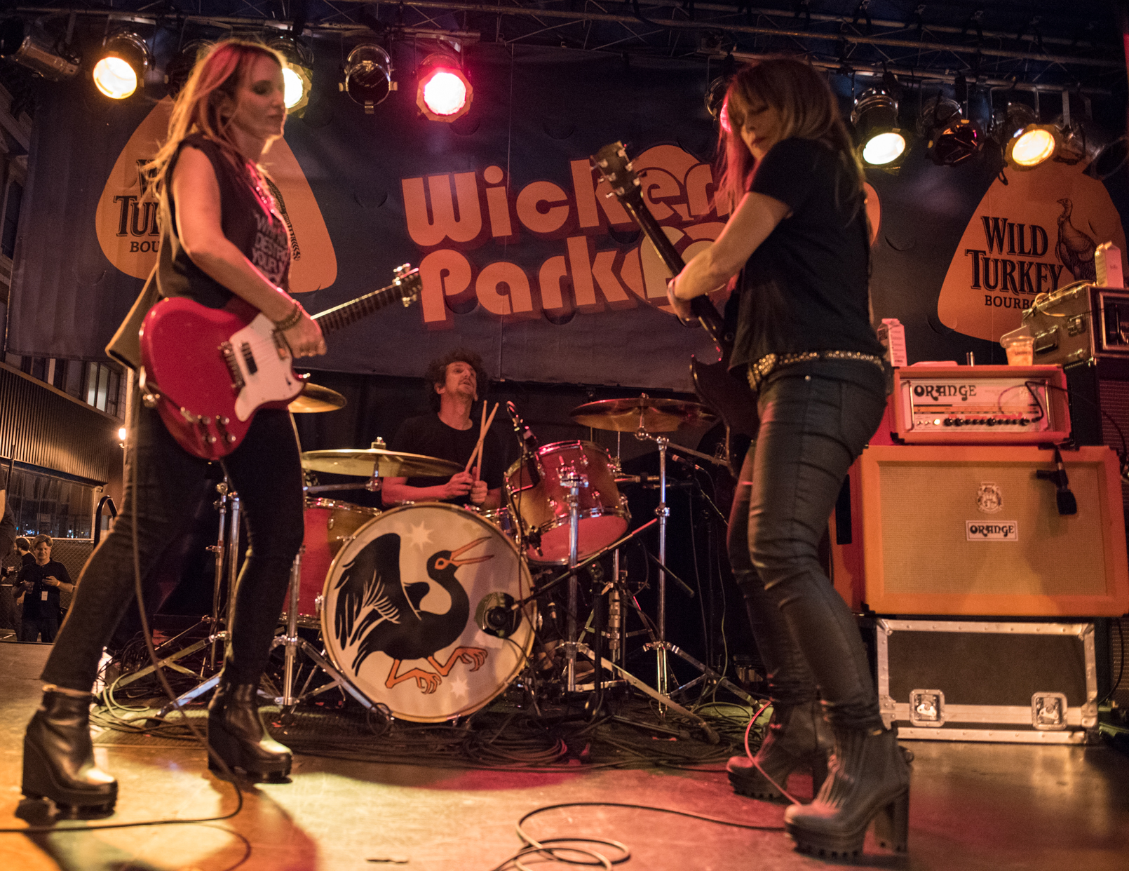 Photo Gallery : Veruca Salt @ Wicker Park Festival 2015
