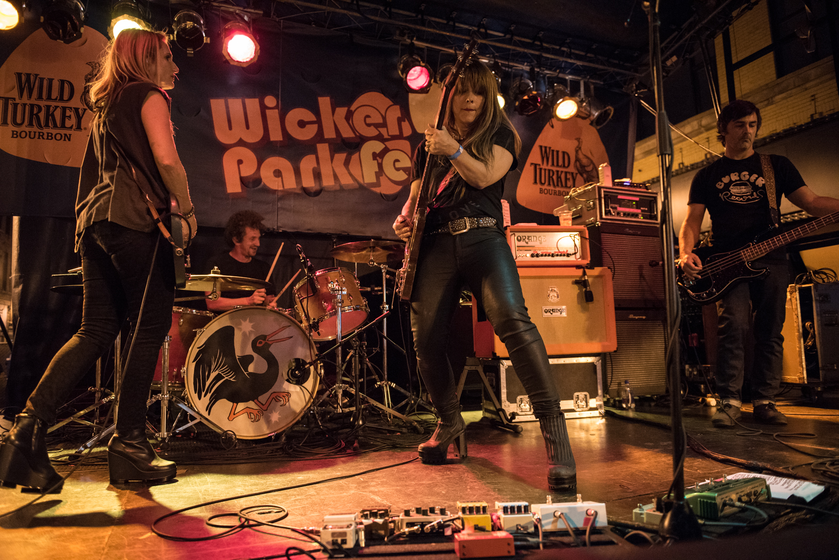Veruca Salt Headline Wicker Park Fest 2015