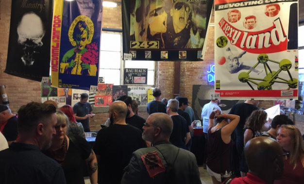 It's Alive! Wax Trax! Records Pop Up Store, Traveling Museum And Punk Rock Concert Resurrects And Makes West Loop Skater Club It's Home For The Night