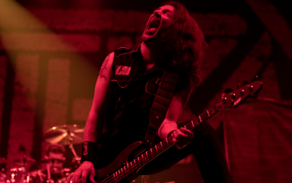 Interview : Frank Bello From Anthrax Talks New Record and Tour