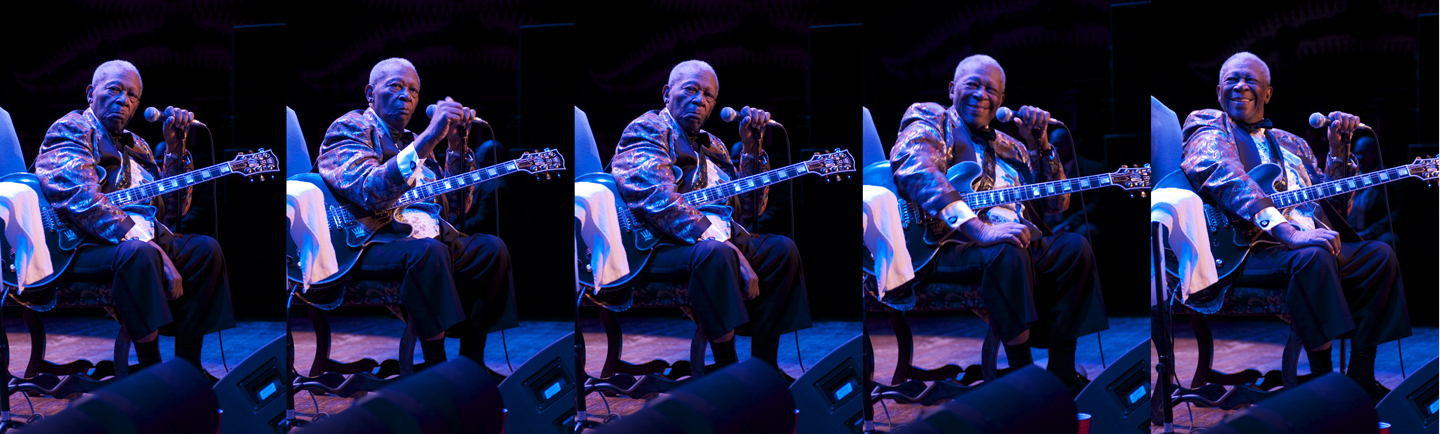 B.B. King's last full performance in Chicago