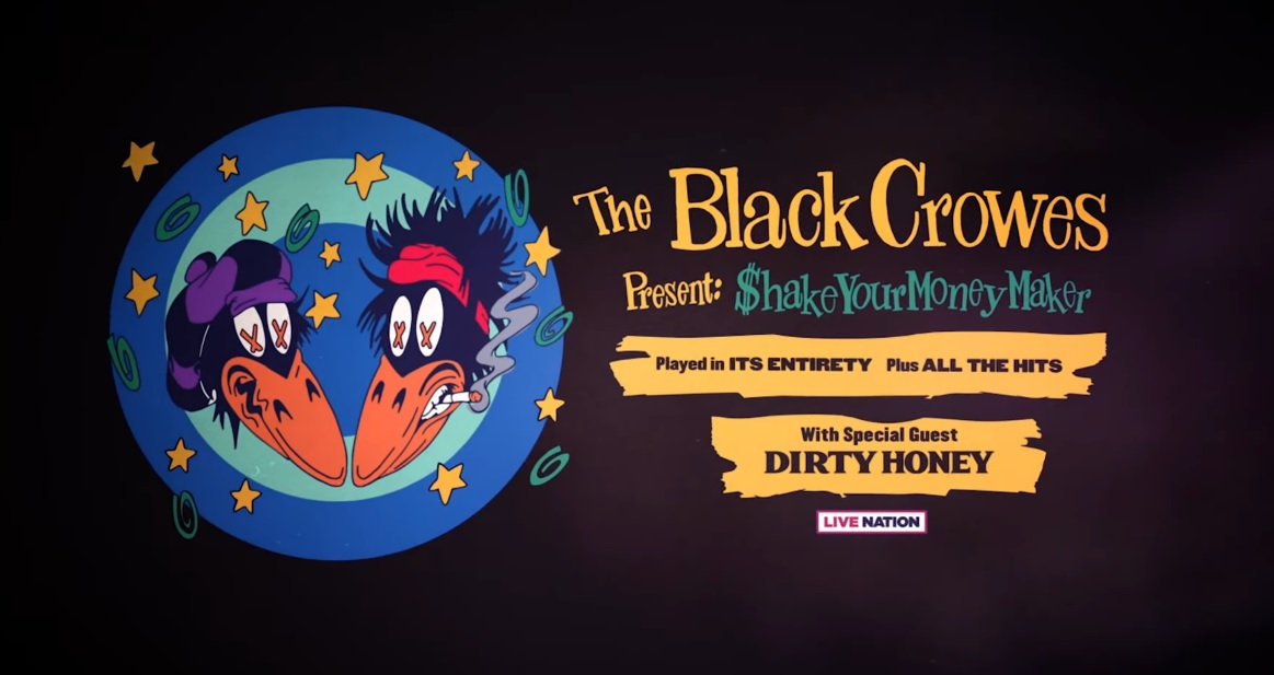 Rock n Roll Has Returned As The Black Crowes & Dirty Honey Tour Kicks Off And Includes Date In Chicagoland