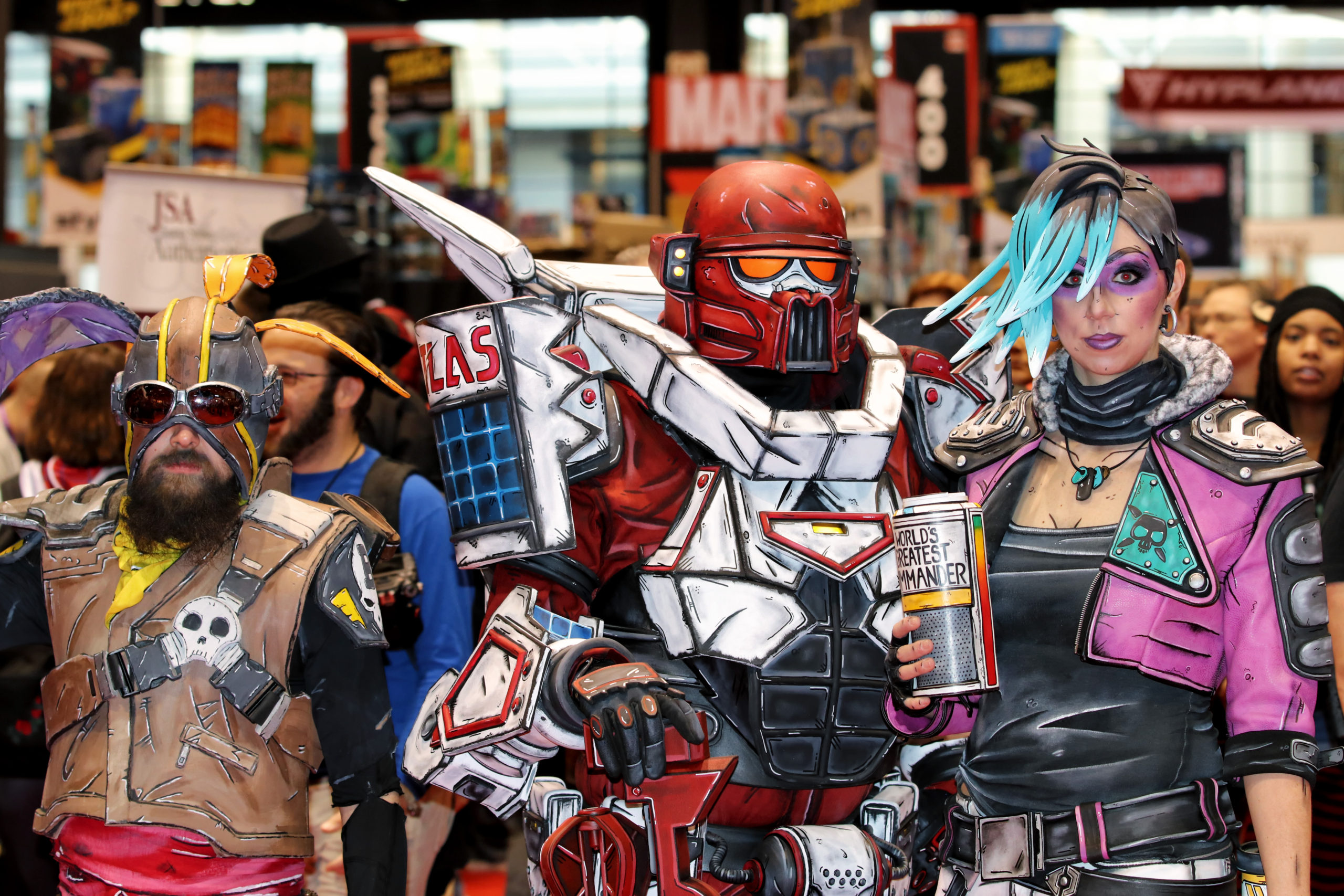 Monsters, aliens, heroes, villains, animals and plain-old comic fans descended on Chicago for another 3-day extravaganza at C2E2