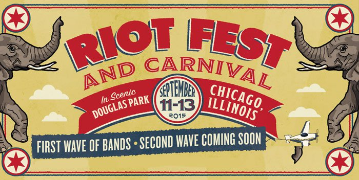 Riot Fest Chicago, First Wave, Lineup Announced Tonight.