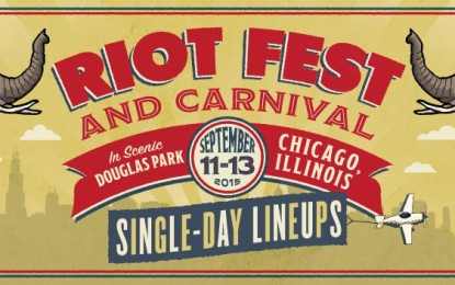 Riot Fest Official Full Chicago Line Up Released!