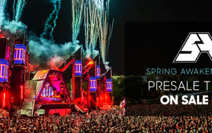 SPRING AWAKENING ANNOUNCES 2017 DATES, LOCATION & PRESALE TICKETS