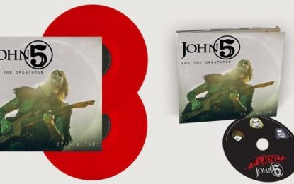 "John 5 And The Creatures To Release ""It's Alive!"" Live Album Followed By Chicago Tour Date"