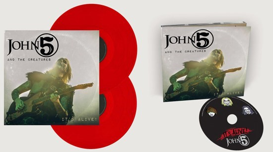 """John 5 And The Creatures To Release """"It's Alive!"""" Live Album Followed By Chicago Tour Date"""