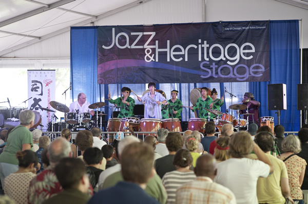 CITY OF CHICAGO ANNOUNCES 40th ANNUAL CHICAGO JAZZ FESTIVAL AT MILLENIUM PARK AND JAZZ MUSIC VENUES ACROSS CHICAGO