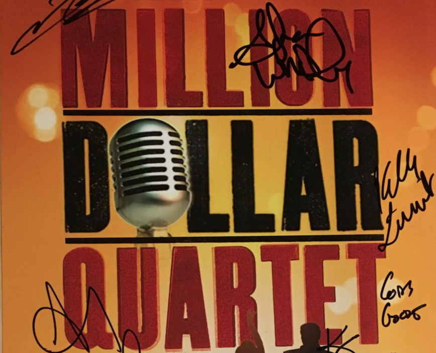 Free Stuff Friday!  Million Dollar Quartet Cast Signed Poster Package