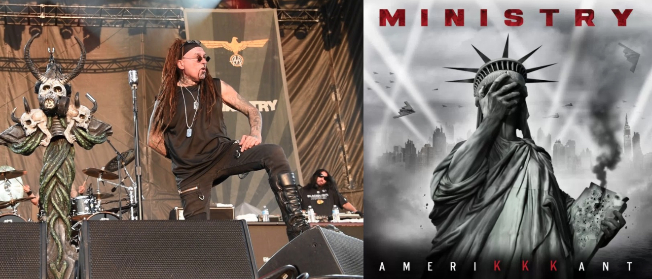 Album Review: Chicago's Own Al Jourgensen Returns With Fresh, All New Material Ministry Album, AmeriKKKant – Complete Breakdown Review