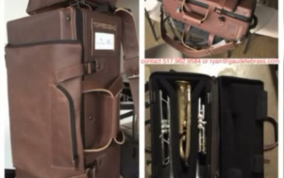 ALERT!  Chicago Musician Gets Prized Instruments Lifted