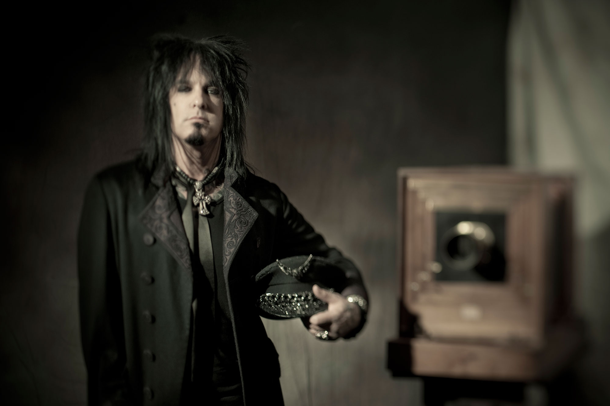 Six With Sixx: Six Questions in Six Minutes with Nikki Sixx.