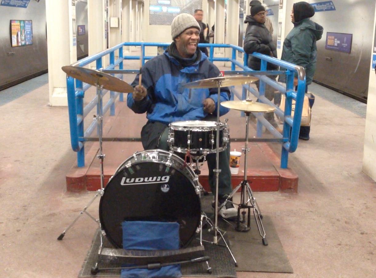 Chicago Artist Spotlight : Robert Darren. Underground Drummer.
