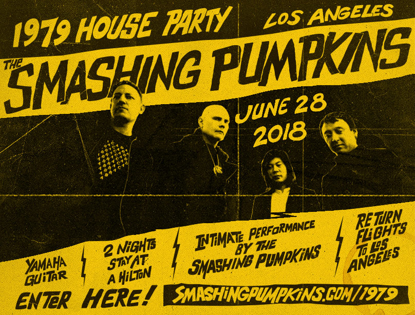 Enter To Win The Smashing Pumpkins 1979 House Party Sweepstakes